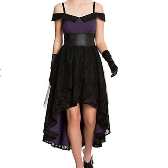 Disney Dresses Nwt Villain Prom Dress From Hot Topic Poshmark